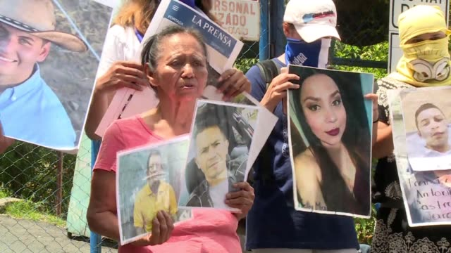mothers of protesters arrested in nicaragua demand their loved ones freedom after they were detained during more than two months of anti-president... - managua stock videos & royalty-free footage