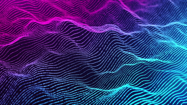 motion abstract background,abstract wave line infinite loop for business science and technology - complexity stock videos & royalty-free footage