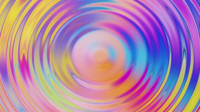 4k motion abstract digital ripple wave animation vibrant background - rippled stock videos & royalty-free footage