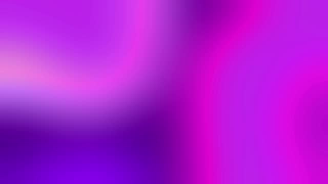 4k motion abstract morphing wave composition blue violet color fluid background - 混ぜる点の映像素材/bロール