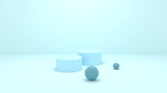 vidéos et rushes de boules de mouvement - image dépouillée