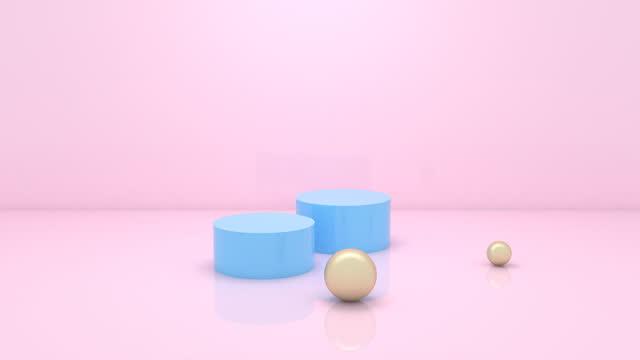 motion balls - light blue stock videos & royalty-free footage