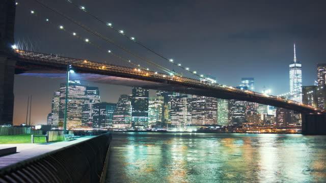 Motion control time lapse of Brooklyn Bridge