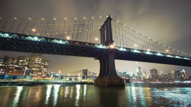 Motion control time lapse of Manhattan Bridge