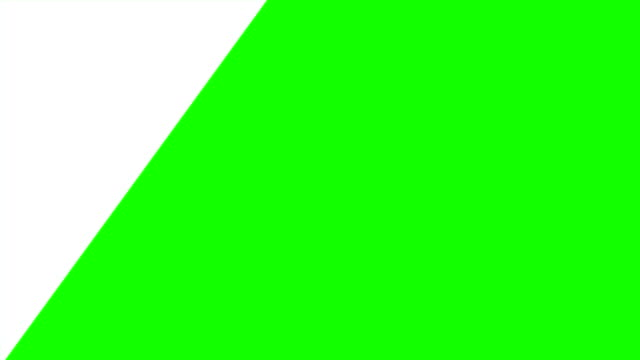 4k motion graphic flat transition animation green box alpha channel , footage video intro opening clip. geometric shape, square, sequence rectangle, frame transition - matte finish stock videos & royalty-free footage