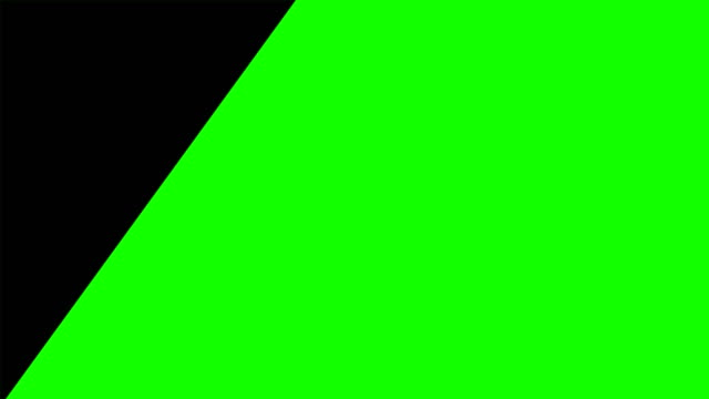 4k motion graphic flat transition animation green box alpha channel, footage video intro opening clip. geometrische form, quadrat, sequenzrechteck, rahmenübergang - rechteck stock-videos und b-roll-filmmaterial