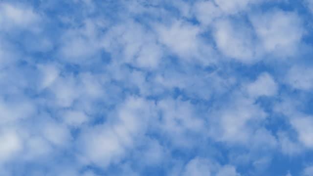 motion of cloud - cumulo video stock e b–roll