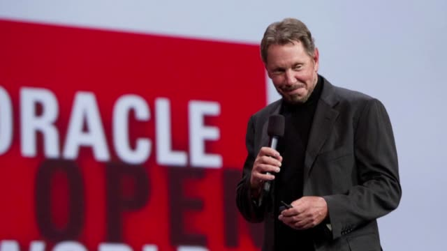 motion still photo montage of oracle ceo larry ellison motion still photo montage of larry ellison on october 02 2012 in san francisco california - oracle corporation stock-videos und b-roll-filmmaterial