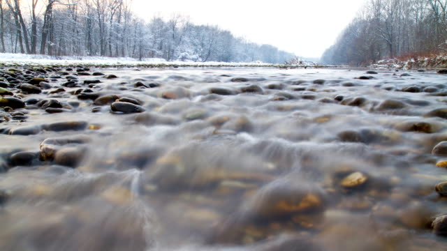 HD Motion Time-Lapse: Flowing Water