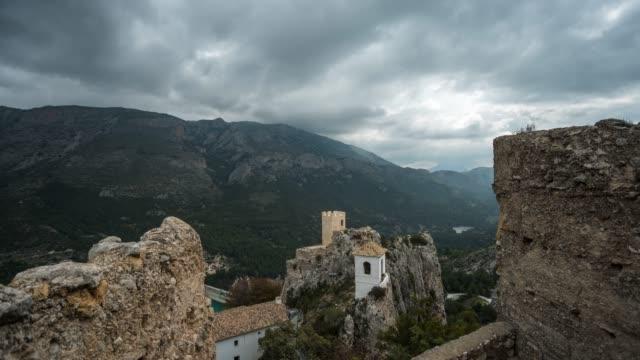 Motion Timelapse of El Castell de Guadalest