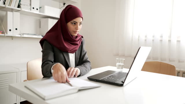 motivated and ambitious - hijab stock videos & royalty-free footage
