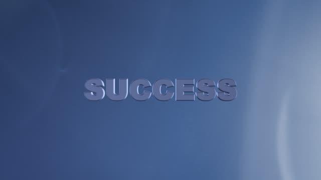 4K Motivational Business Success Words