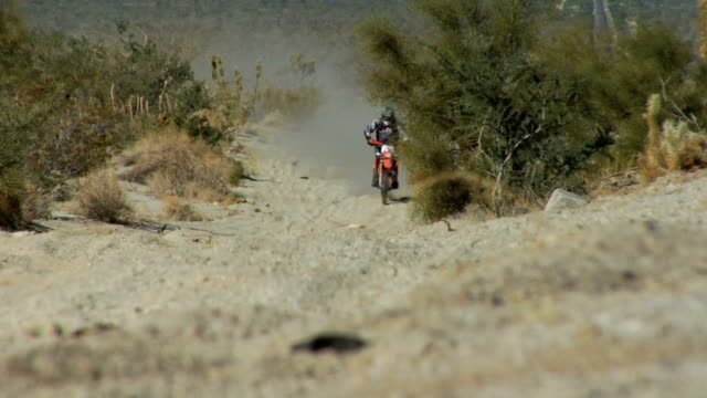 motocross bumps front real time - baja california peninsula stock videos and b-roll footage