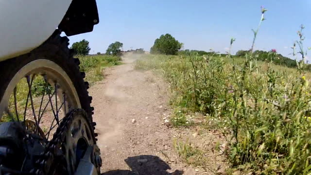 Motocross Motorcycle Offroad Wheel view
