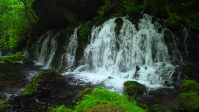 motodaki の滝 - 鳥海山点の映像素材/bロール