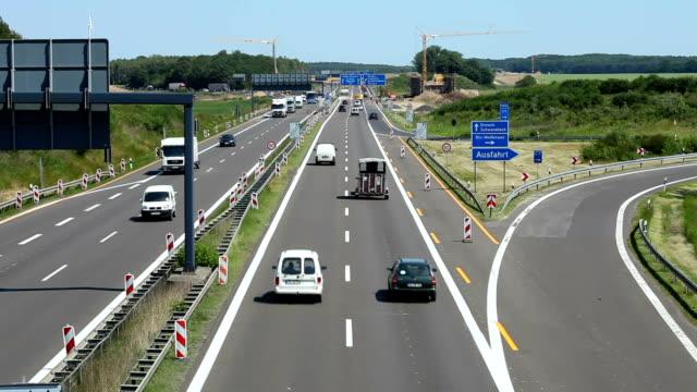 Motor Autobahn in Deutschland