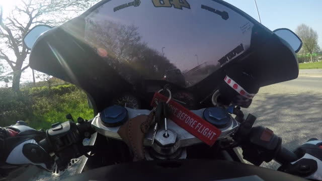 pov motorbike being rode - key stock videos & royalty-free footage