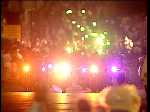 vídeos y material grabado en eventos de stock de motorbikes in parade at sydney gay & lesbian mardi gras - mardi gras