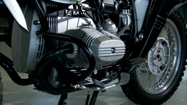 a bmw motorcycle engine. - bmw stock videos & royalty-free footage