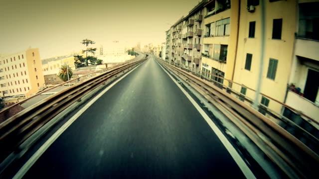 モーターサイクルオンボードカメラローマで - ラツィオ州点の映像素材/bロール