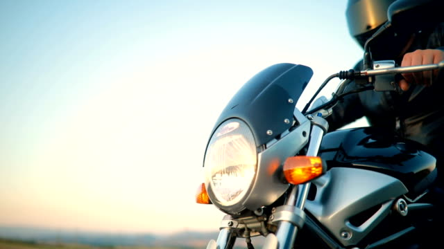 motorcycle road trip - crash helmet stock videos & royalty-free footage