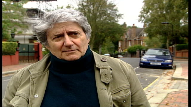 councils making money out of parking fines; tom conti interview sot - if i were to hit you on the nose, i'd be given a community thingy or be fined... - tom conti stock videos & royalty-free footage