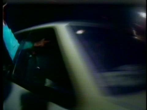 motorists cross the hungarian-austrian border. - hungary stock videos & royalty-free footage
