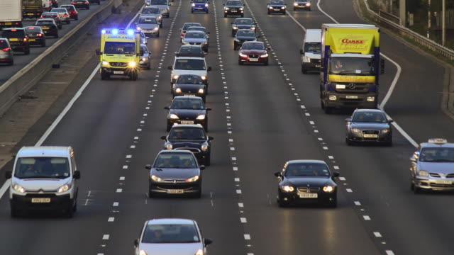 Motorway Ambulance.