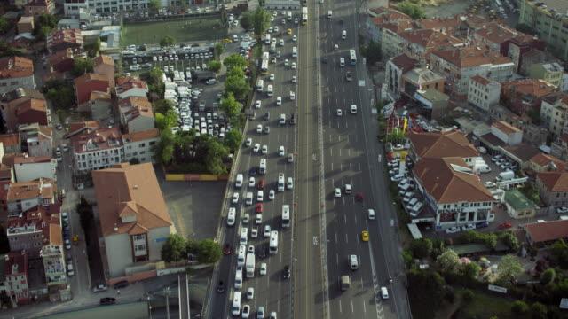 Motorway In Eyup District Istanbul