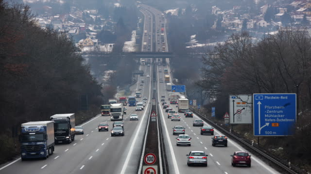 motorway pforzheim nord