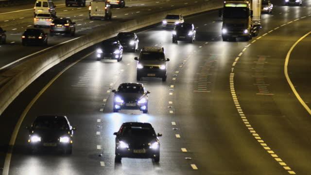 M25 Motorway Rush Hour