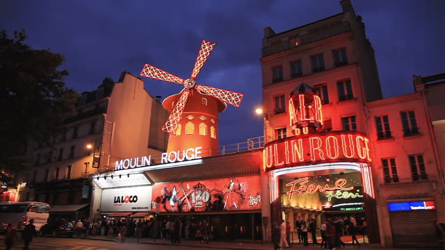 Moulin Rouge Theatre in Paris