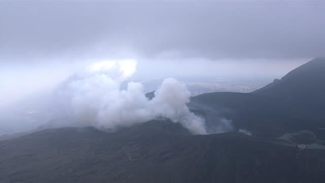AS; WA; HA; ZO; Mount Aso eruption