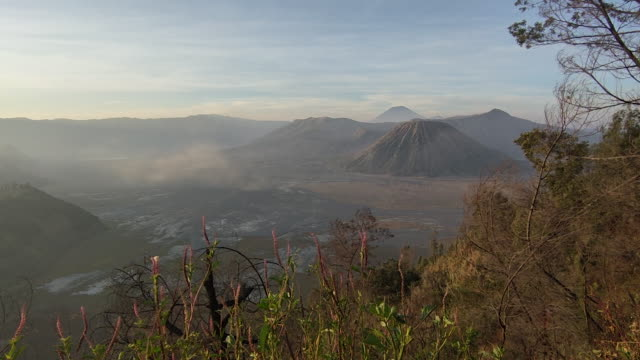 mount bromo, a spectacular indonesia mountain. - probolinggo stock videos & royalty-free footage