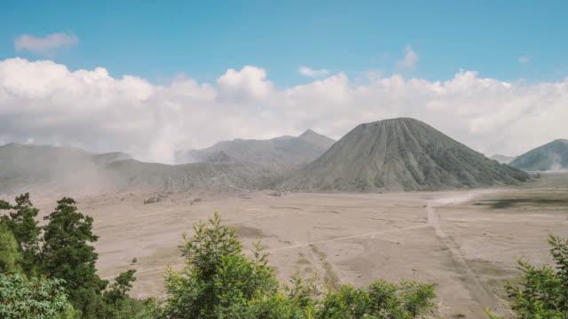 vídeos y material grabado en eventos de stock de volcán monte bromo, java oriental, indonesia. - java