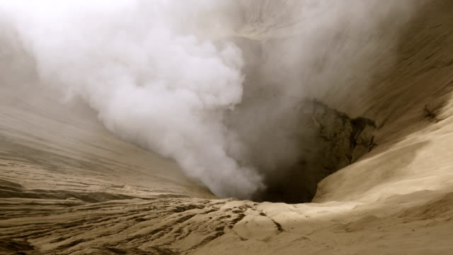 Mount Bromo volcano in East Java, Indonesia.