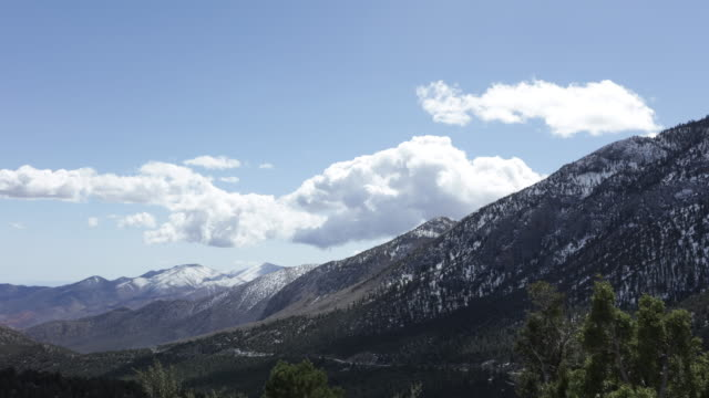mount charleston nevada - nevada stock videos & royalty-free footage