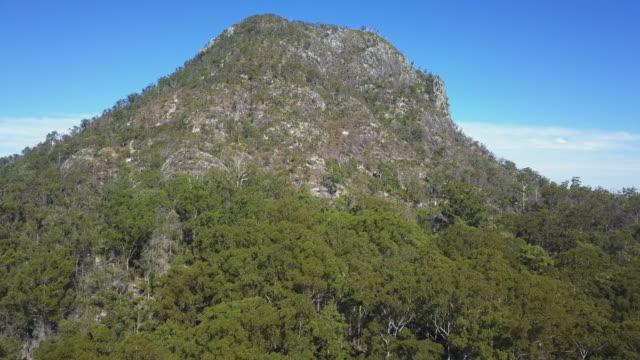 vídeos y material grabado en eventos de stock de mount coorora, sunshine coast, queensland, australia - bush land