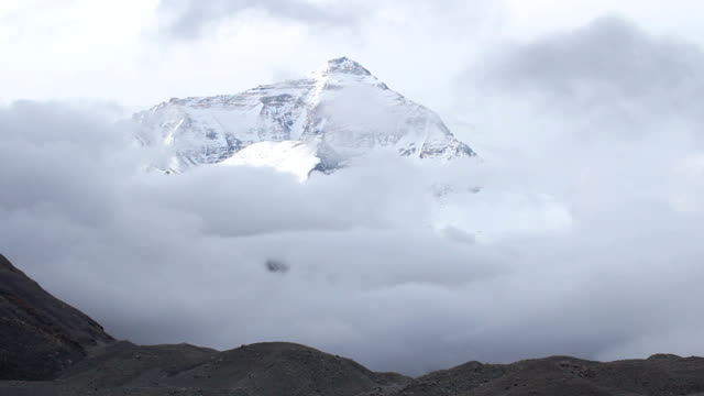 stockvideo's en b-roll-footage met mount everest, tibet, china - mount everest