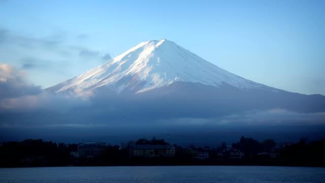 mount fuji japan - satoyama scenery stock videos & royalty-free footage