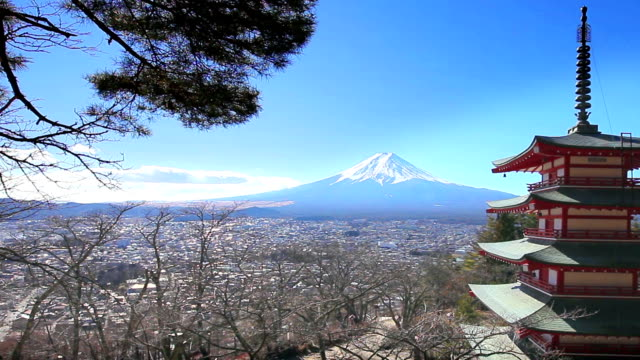 mount fuji japan - japan stock videos and b-roll footage