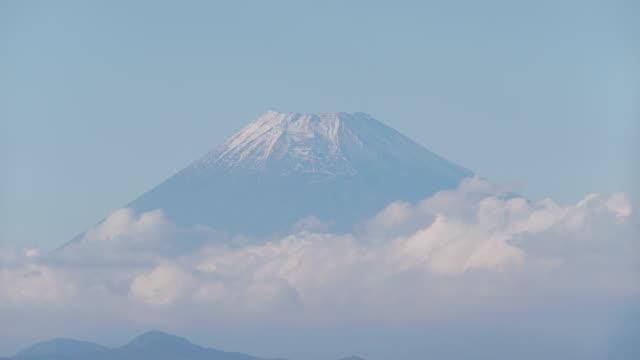 mount fuji time lapse - shizuoka prefecture stock videos and b-roll footage