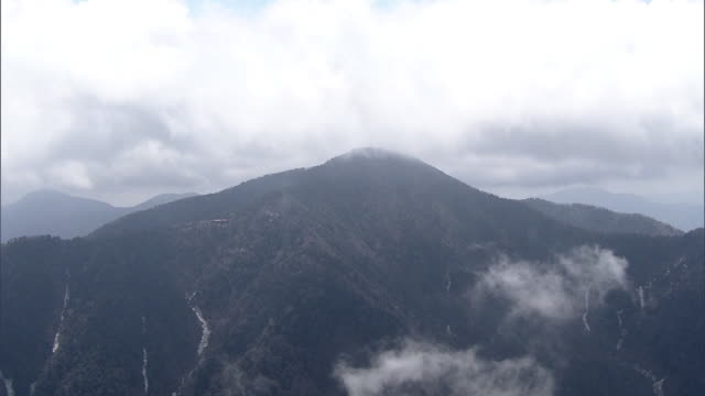 AERIAL, Mount Kumotori, Chichibu Tama Kai National Park, Japan