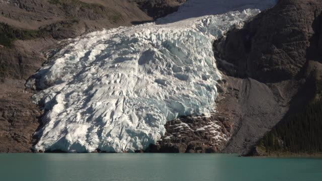 Mount Robson Provincial Park Berg Lake Glacier British Columbia Canada