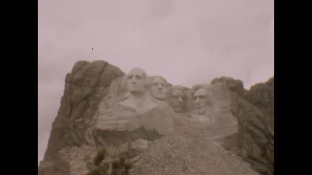1947 Mount Rushmore Family Visit
