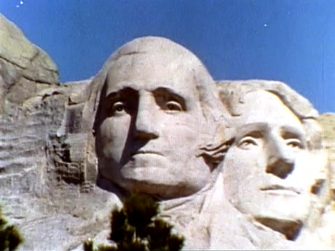mount rushmore - mt rushmore national monument stock videos and b-roll footage