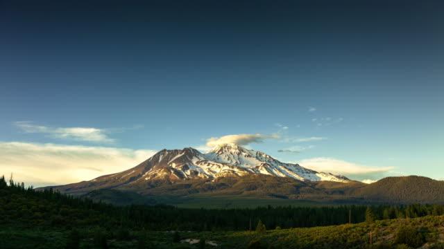 Mount Shasta Landscape - Time Lapse