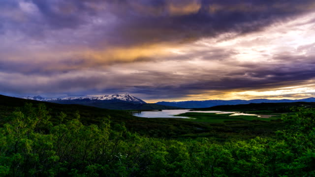 mount sopris roaring fork valley summer sunset time lapse - basalt stock videos & royalty-free footage