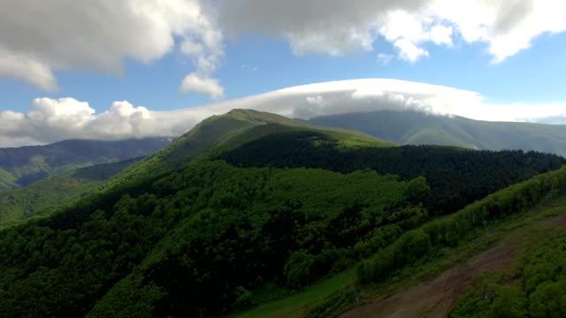 Mountain Luftaufnahme