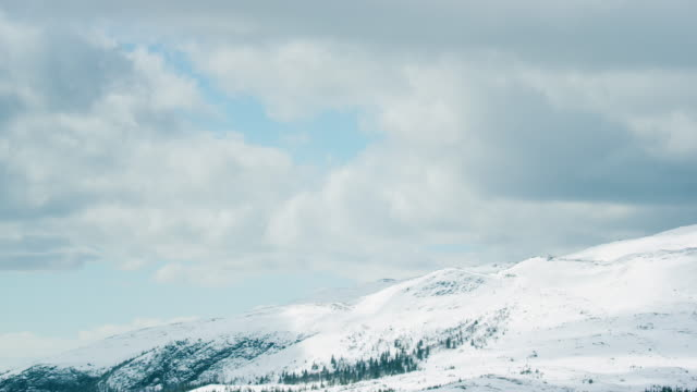 mountain and cloud time lapse. - sweden stock videos & royalty-free footage